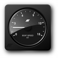 A+T ANALOGUE - BOAT SPEED KT